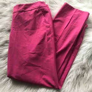 Trina Turk Work Pants in hot pink